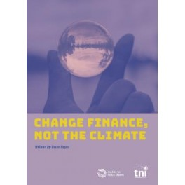 Change Finance, not the Climate